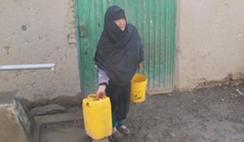 Essential water supplies in Afghanistan