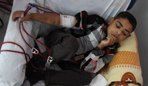 Al Shifa Gaza hospital – A lifeline for Mohamed