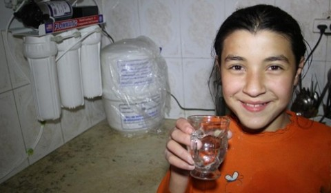 Safe water for Basem in Gaza