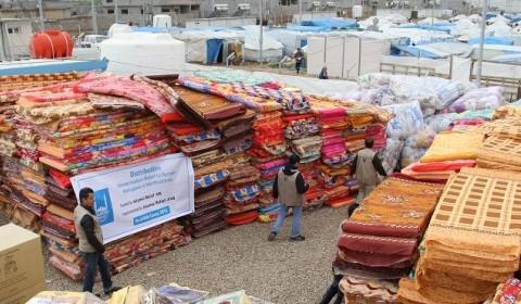 Life saving aid in Iraq