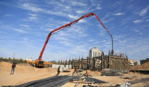 Construction begins on new schools in Gaza