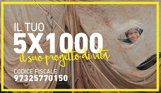 Il tuo 5x1000 il suo progetto di vita